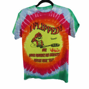 Tie Dye Lower Frederick Fire Co Fest T Shirt